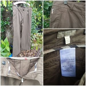 Burberry Chino Women Pants